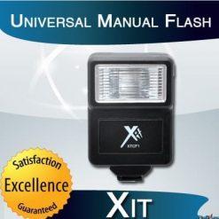Xit XTCF1 Universal Manual Flash (Black)