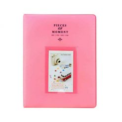 Xit Photo Album for Fuji Instax Prints Holds 128 Photos Pink XTFA128PK