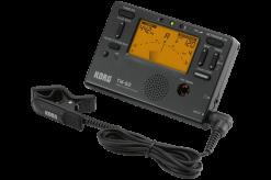 Korg TM60 Combo Tuner /Metronome Black With Contact Mic