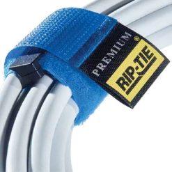 Rip Tie 1 x 9.5 Rip-Lock CableWrap 3 Pack, Black RLH-095-003-BK