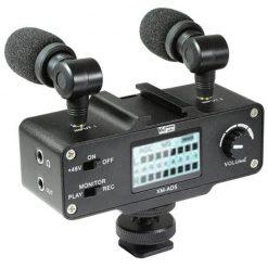 Vidpro XM-AD5 Mini Pre-Amp Smart Mixer with Dual Condenser Microphones