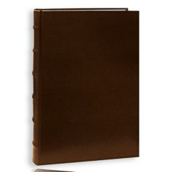 Pioneer Photo Albums Sewn Bonded Bi-Directional Album (For 4 x 6 Photos, 50 Pages , Brown)