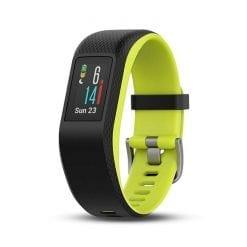 Garmin VivoSport Touch GPS Smart Activity Tracker Fitness Band Limelight, L Refurbished