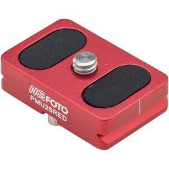 MeFOTO BackPacker Air Camera Plate - Red (PMU25RED)