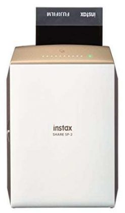 Fujifilm INSTAX SHARE SP-2 Smart Phone Printer (Gold) (16522270)