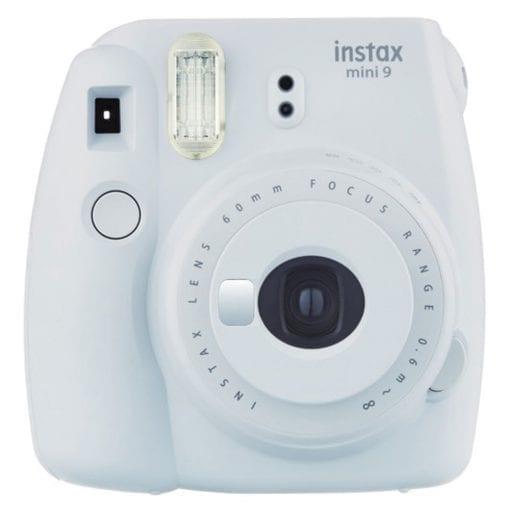Fujifilm Instax Mini 9 Instant Camera – Smokey White (16550629)