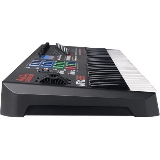 Akai Professional MPK261   61-Key USB MIDI Keyboard & Drum Pad Controller with LCD Screen (16 Pads/8 Knobs/8 Faders), VIP Software Download Included