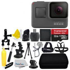 GoPro HERO5 4K Black Edition Action Camera + 32GB Deluxe Accessory Bundle