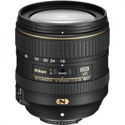 Nikon AF-S DX NIKKOR 16-80mm f/2.8-4E ED VR Zoom Lens with Auto Focus for Nikon DSLR Cameras