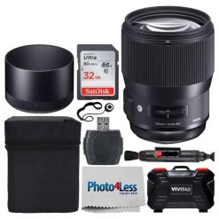 Sigma 135mm f/1.8 DG HSM Art Lens for Canon EF (240954)
