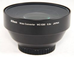 Nikon WC-E80 Wide Angle Converter Lens for Select Coolpix Cameras (25106)