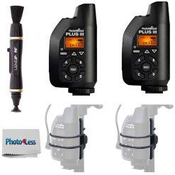 PocketWizard 801-130 Plus III Transceiver PW-PLUS3-FCC -BLACK
