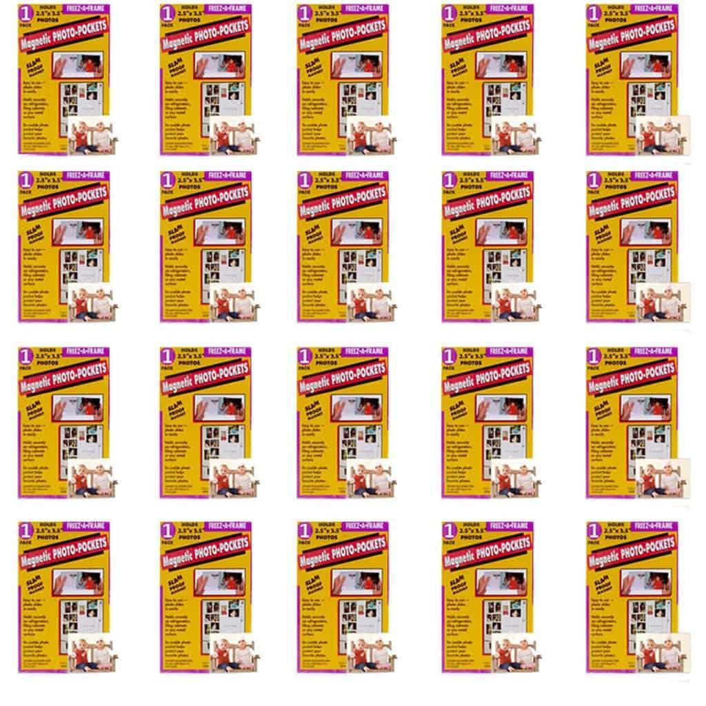 Howard Packaging #32302 2.5x3.5MagnetPhotoFrame