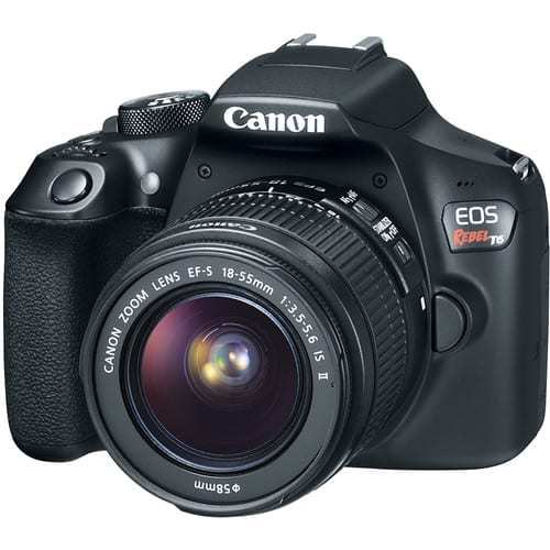 Canon EOS Rebel T6 Digital SLR Camera + 18-55mm EF-S f/3.5-5.6 IS II Lens