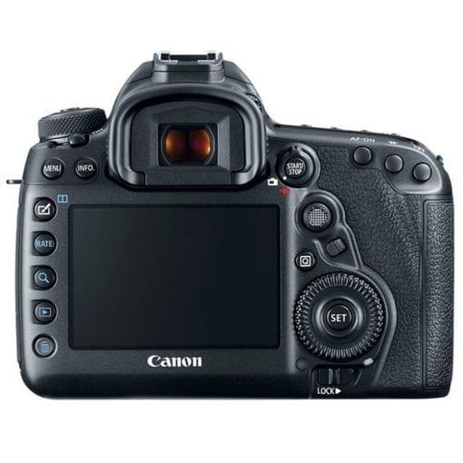 Canon EOS 5D Mark IV DSLR Camera Body + 64GB Memory Card + Extra Battery + Wireless Remote + Large Gadget Bag + Slave Flash + Heavy Duty Tripod + Hand Grip + Lens Band + Card Reader + Bundle