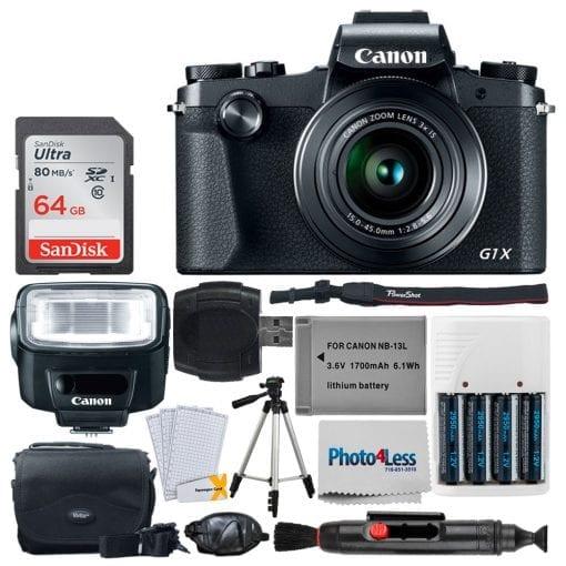 Canon PowerShot G1 X Mark III Digital Camera – Wi-Fi Enabled