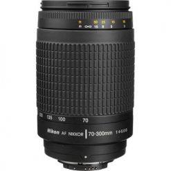Nikon Zoom Telephoto 70-300mm f/4-5.6G Zoom-Nikkor AF Lens