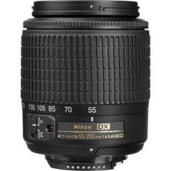 Nikon Normal-Telephoto 55-200mm f/4-5.6G ED AF-S DX Zoom-Nikkor Autofocus Lens for Nikon Digital Cameras