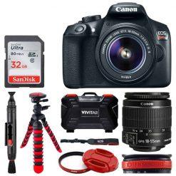 Canon EOS Rebel T6 Digital SLR Camera + 18-55mm EF-S f/3.5-5.6 IS II Lens
