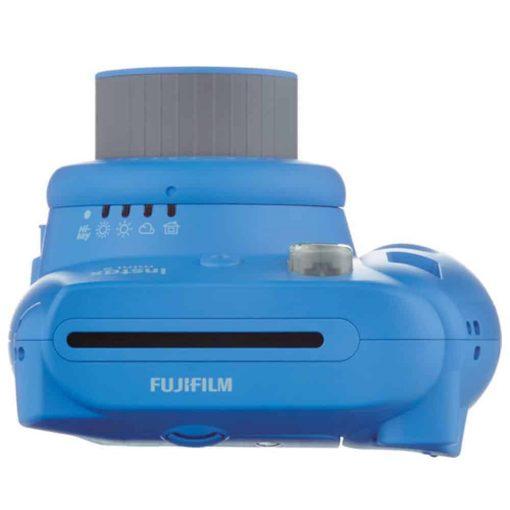 Fujifilm Instax Mini 9 Instant Camera (Cobalt Blue) + Fujifilm Instax Mini Twin Pack Instant Film (60 Exposures) + Camera Case + Scrapbooking Album + 4 AA Batteries & Charger – Deluxe Accessory Bundle