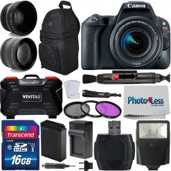 Canon EOS Rebel SL2 Digital SLR Camera
