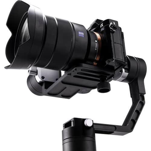 Zhiyun Crane 3-Axis Handheld Gimbal for DSLR & Mirrorless Cameras, CNC Aluminum Alloy Construction w/ 360° Brushless Motors, 1-Year Warranty