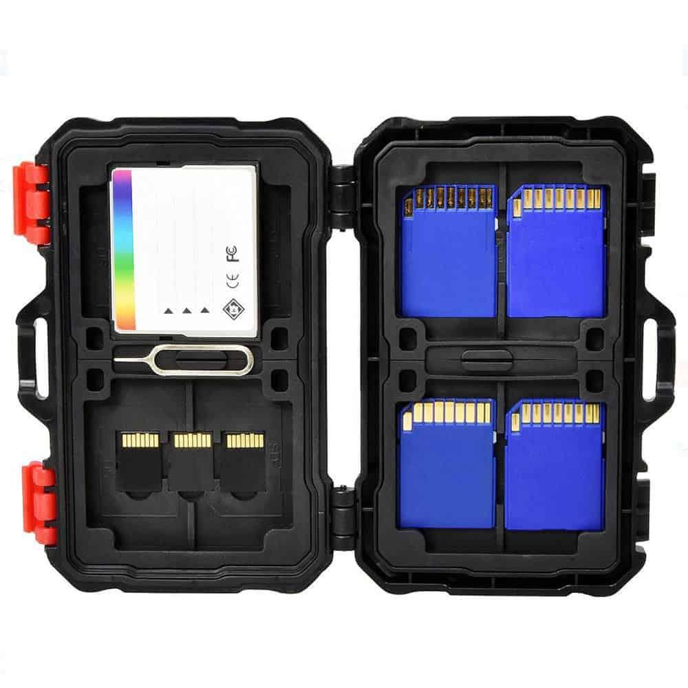 Vivitar Memory Card Hardcase 24 Card Slots