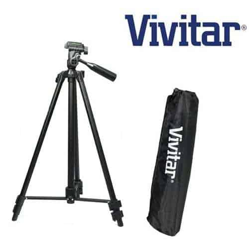 Professional 59-inch Light Weight TRIPOD FOR All Canon Sony, Nikon, Samsung, Panasonic, Olympus, Kodak, Fuji, Cameras And Camcorders With carrying case +8GB SD Memory Card Kit