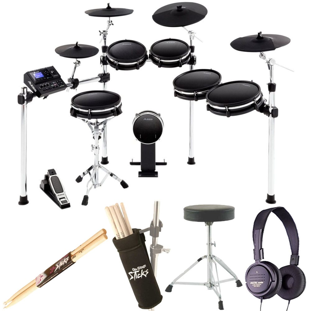 photo4less alesis dm10 mkii pro kit ten piece electronic drum kit with mesh heads. Black Bedroom Furniture Sets. Home Design Ideas