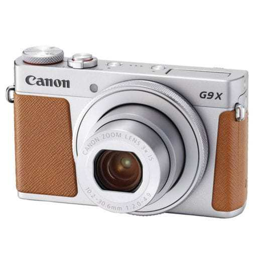 Canon PowerShot G9 X Mark II Digital Camera (Silver) + 64GB Memory Card + Point & Shoot Case + Flexible Tripod + USB Card Reader + Cleaning Kit + LCD Screen Protectors + Full Accessory Bundle