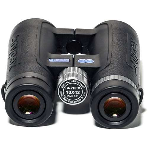 SNYPEX Optics New 2016 Knight 10X42 D-ED Wide Views Professional Binoculars for Birders / Hunters with ED Glass Binocular + Harness + Lens Pen + Cleaning Accessories + Valued Bundle