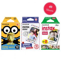 Fujifilm Instax Minion Instant Film Standard Version - 10 Exposures