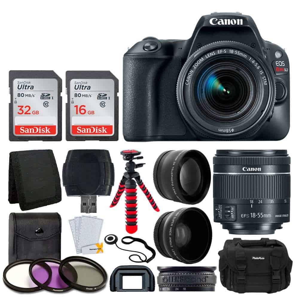 Canon Cameras US 24 2 EOS Rebel SL2 EF-S 18-55mm STM Kit
