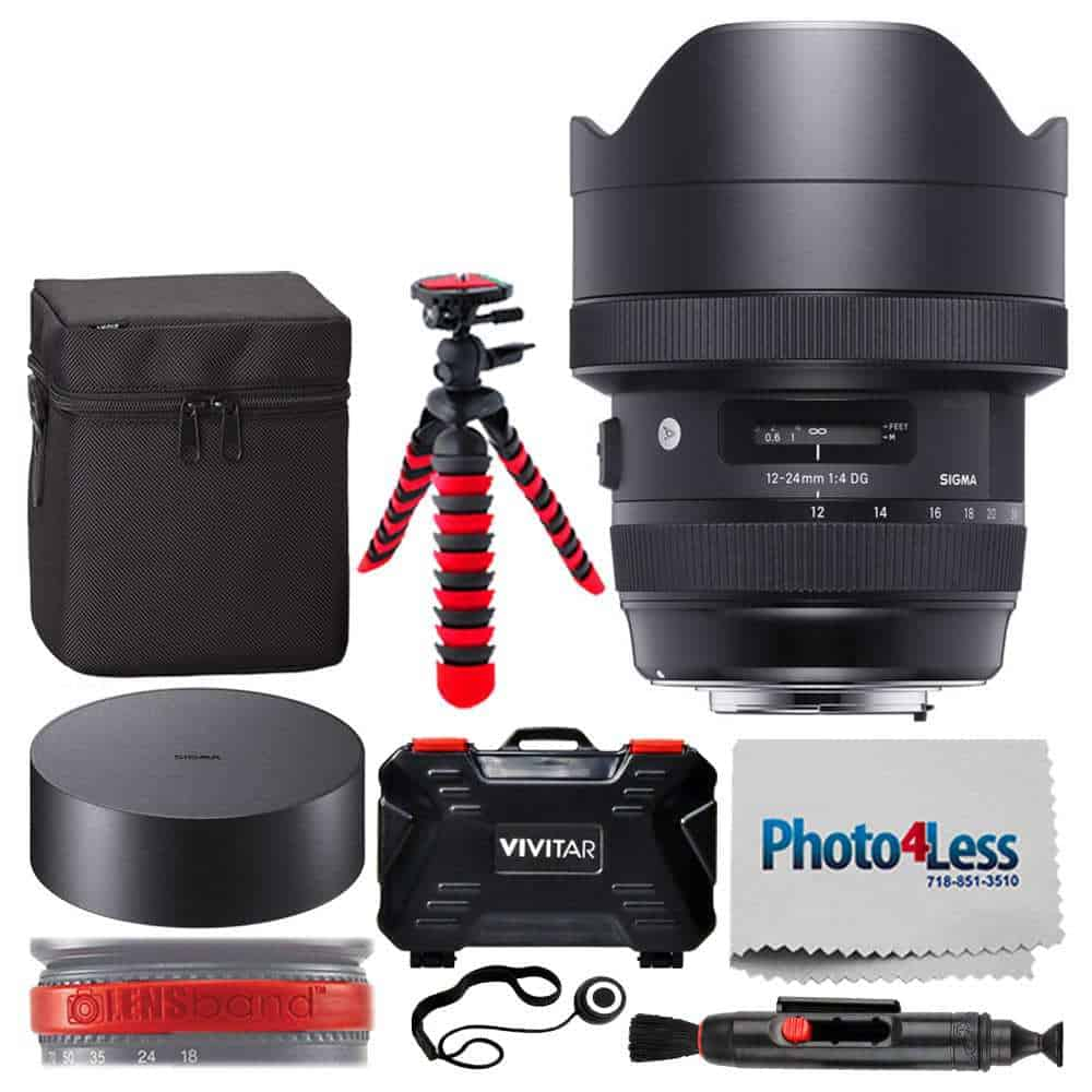 Photo4less Sigma 12 24mm F 4 Dg Hsm Art Lens For Nikon 205955 14 28 Canon Ef