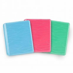 Xit 64-Sleeve Photo Album for Fuji Instax Prints - Ice Blue, Green, and Flamingo Pink – 3 Albums