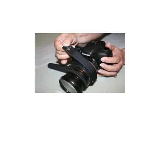 Lenz A Hand, Helps Hold Grip, Stabilize and Focus your DSLR Camera and Lens Nikon Canon Sony Olympus Panasonic Pentax With Camera Lens Cleaning Kit