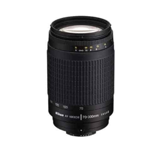 Nikon Zoom Telephoto 70-300mm f/4-5.6G Zoom-Nikkor AF Lens