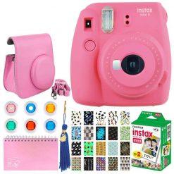 Fujifilm Instax Mini 9 Instant Camera - Flamingo Pink