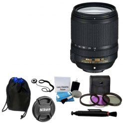 Nikon 18-140mm VR AF-S DX NIKKOR Zoom Lens + UV Filter Kit Lens Pen Bundle