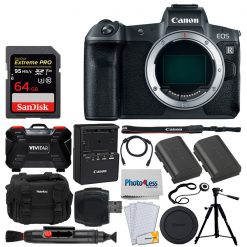 Canon EOS R Mirrorless Digital Camera - Full Bundle Kit