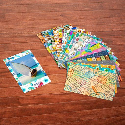 Fujifilm instax mini Instant Film (60 Exposures) + 20 Sticker Frames for Fuji Instax Prints Travel Package