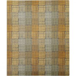 """Itoya ProFolio Expressions 8-1/2"""" x 11""""- Brown Squares-BRS-12"""