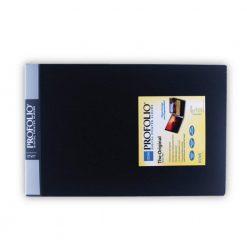 "Itoya Original Art ProFolio14""x11"" 24 Page, 48 Views- Horizontal-Black-BK-12"