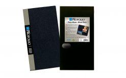 Itoya Art Profolio Photo Album  4x6 Photos 3 Per Page With Protective Sleeve 120 Pockets Black OL-120