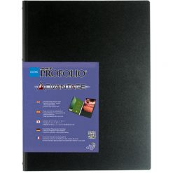 "Itoya Profolio Advantage Art Presentation Book 8""x10"" For Art, Photography, Document, and Archival Storage -- 24 PolyGlass Pages for 48 Inserts"