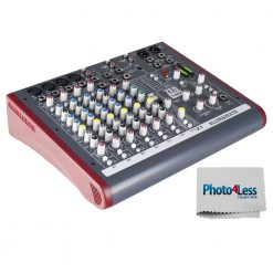 Allen & Heath ZED-10FX Four Mono Mic/Lines with 2 Active D.I., 3 Stereo Line Inputs and Onboard Effects + Bonus Photo4less Cleaning Cloth!