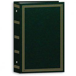 "Pioneer Photo Album 4""X6"", 3-Up, 504 Photos Pocket 3-Ring Binder Album Hunter Green (STC504/HG)"