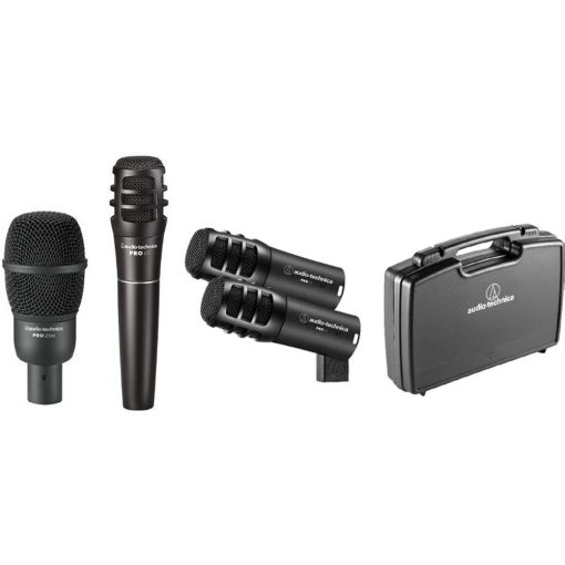 Audio-Technica PRO-DRUM4 Pro Series Drum Microphone Set (4-Piece)