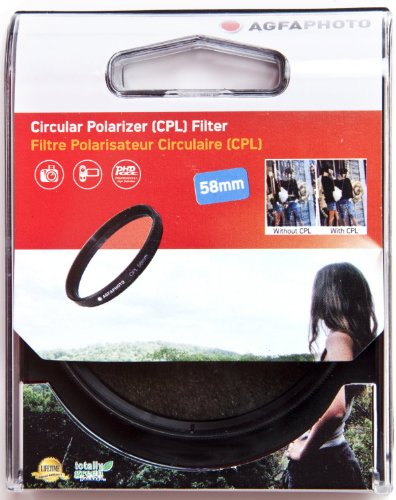 AGFA Polarizing Glass Filter (CPL), 58mm APCPL58