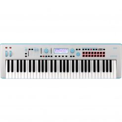 Korg Kross 2 61-Key Synthesizer Workstation Gray/Neon-Blue